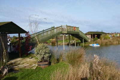 Illegal structures such as this bridge pictured were built on Pevensey Levels. Credit: Natural England