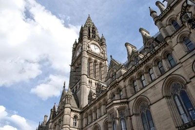 Machester town hall. Credit: Dreamstime
