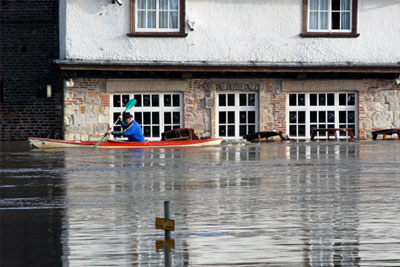 Many high-risk households struggle to get home insurance that covers flooding (photograph: Ronald Hudson/123RF)