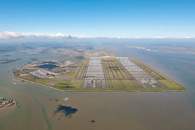 The proposed Thames estuary runway would have been built on existing wetland habitat