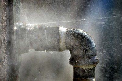 Leaks are a visual reminder of the service customers are paying for
