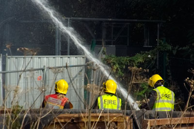 The EA has been criticised for its slow enforcement action on sites such as Waste4Fuel in Orpington (credit: @n_s_martin)