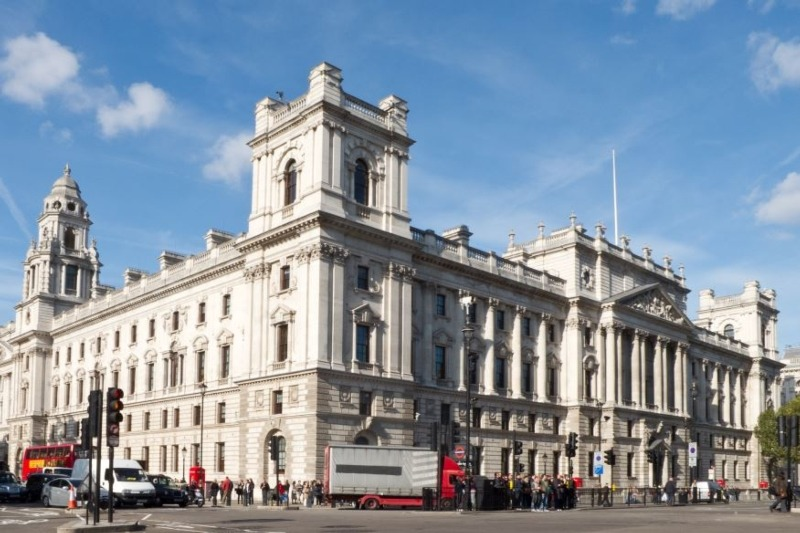 The Treasury, headquartered in Westminster, is weighing in on many areas of environmental policy