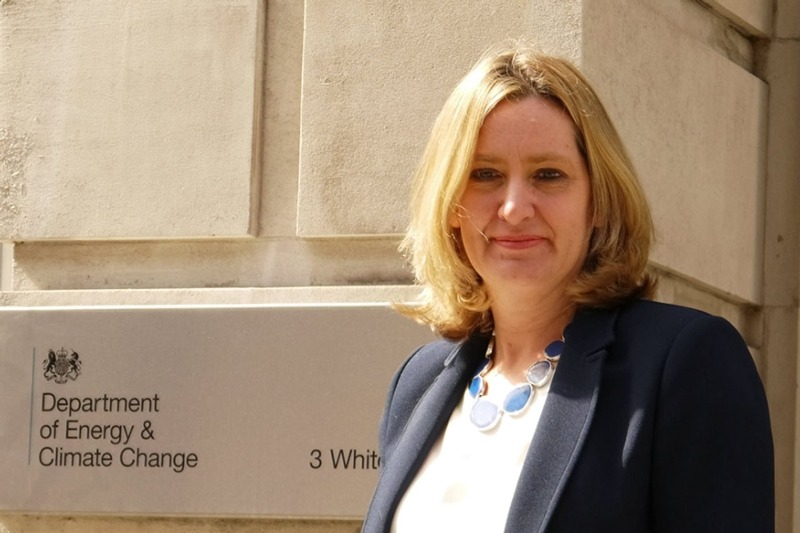 Coal phase-out will be dependent on a rapid increase in gas fired generation Amber Rudd stressed. Photo courtesy of DECC