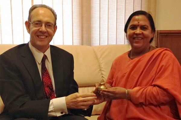 James Bevan was previously the UK's high commissioner to India. Photograph: British High Commission