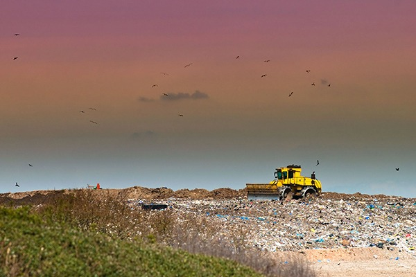 Hazardous waste is still being landfilled. Photograph: Chris Elwell/123RF