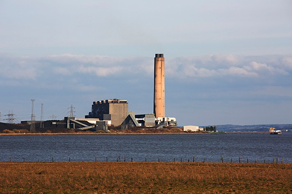 The Longannet coal-fired power station