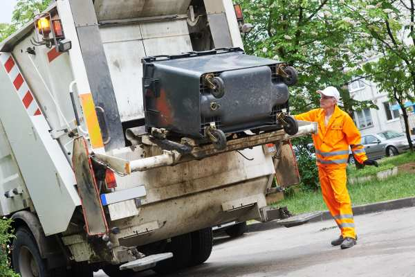 About half of UK local authorities currently outsource their waste services. Photograph: Kadmy/123RF