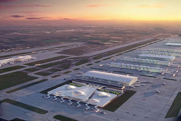 Zaha Hadid's vision of an expanded Heathrow Airport