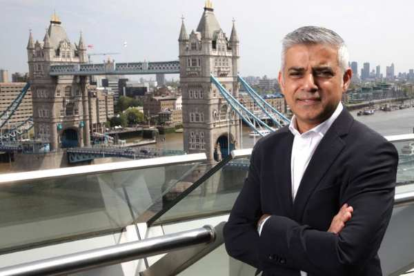 Sadiq Khan has backed ClientEarth's judicial review proceedings. Photograph: Greater London Authority