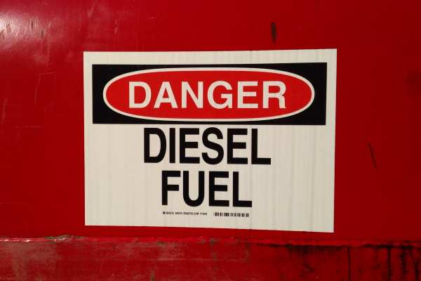 The report highlights the hazards of diesel fuel to human health. Photograph: Mark Buckawicki CC0 1.0