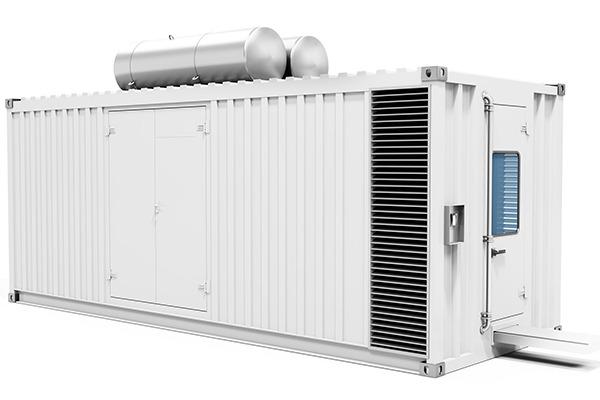 Containerised diesel generator
