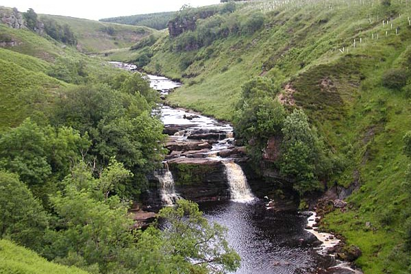 The River Irthingan is in a site of special scientific interest. Photograph: Fron?ère/Wikimedia