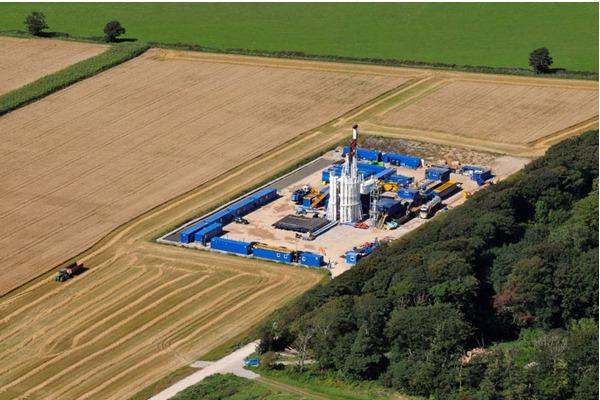 Cuadrilla will resume fracking in Lancashire. Photograph: Cuadrilla