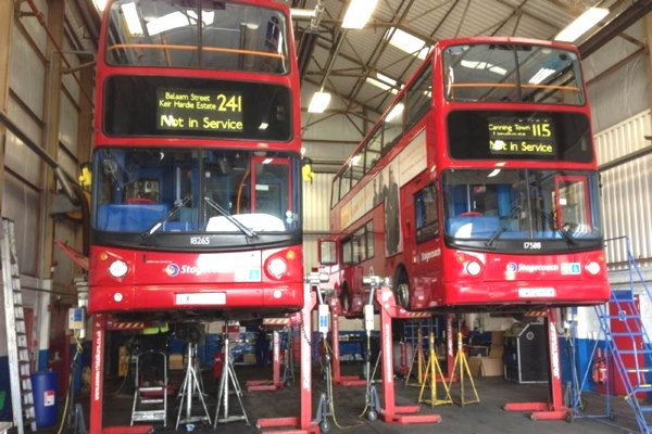SCR upgrades have been made on buses without a common framework to judge their performance. Photograph: Excalibre Technologies
