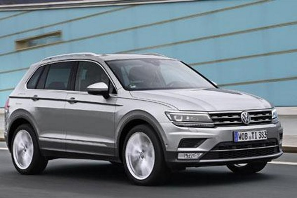 The 2016 VW Tiguan has particularly low NOx emissions, according to Emissions Analytics