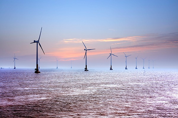 Early offshore wind projects proved CfDs were investable but came at a high price, says NAO. Photograph: Wang Song/123RF