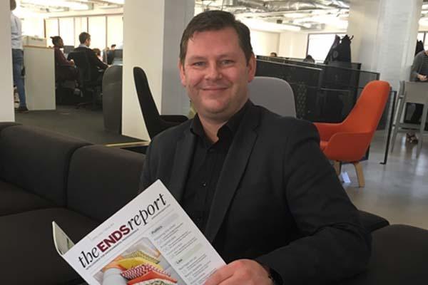Ben Goodson, recruitment sales manager, ENDSjobsearch