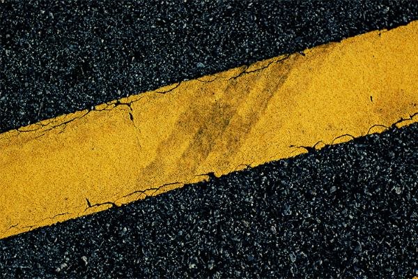 The pigments have been authorised for use in road marking. Photograph: Sherman Tan CC BY 2.0