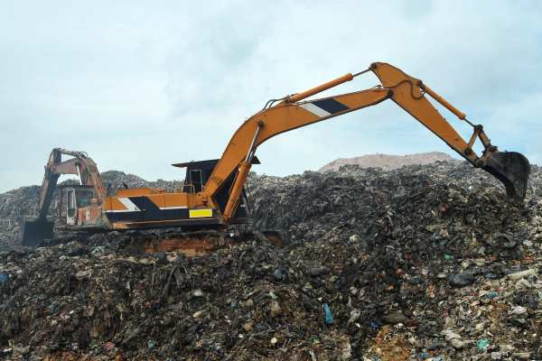 At £150m, the landfill tax gap represents 12% of the amount of landfill tax that should have been paid. Photograph: jaggat / 123RF