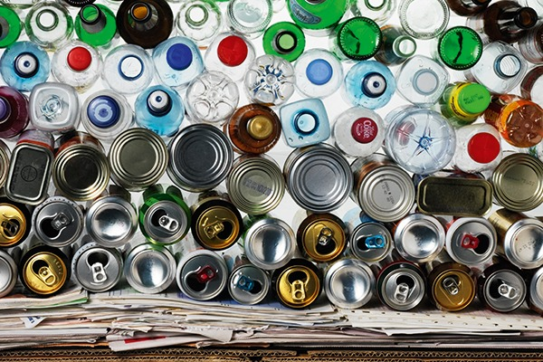 Huge variations in local household waste collections make it difficult to model costs before asking packaging producers to pay for disposal or recycling. Photograph: WRAP
