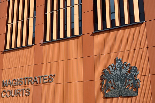 Most environmental prosecutions were heard in magistrates courts in England and Wales. Photograph: Paul Wishart/123RF