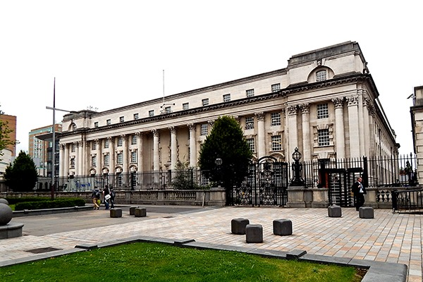 The Royal Courts of Justice in Belfast. Photograph: Suzanne Mischyshyn/geograph.org.uk