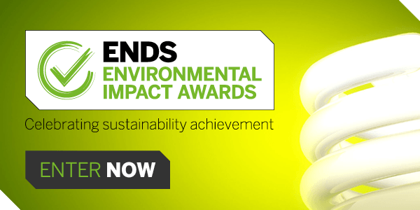 ENDS Environmental Impact Awards: Enter now!