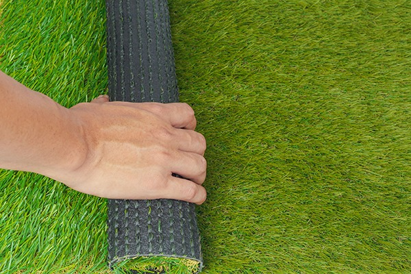 ECHA is investigating if the recycled rubber that holds synthetic grass together is a risk to health. Photograph: FrameAngel/123RF