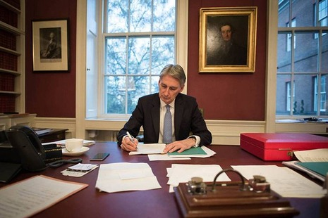 Infrastructure and innovation dominated chancellor Philip Hammond's Autumn Statement. Courtesy of HM Treasury