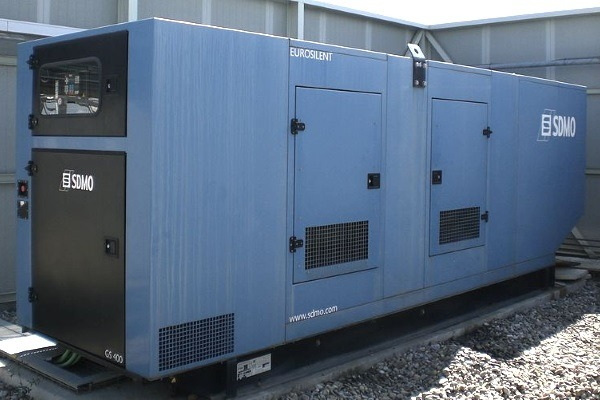 Generator sets such as this could need abatement systems added in London. Photograph: Lofor CC BY-SA 3.0