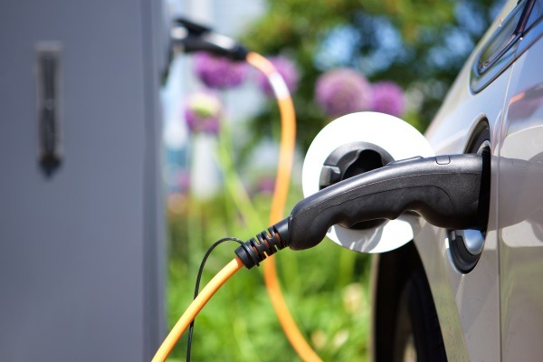 The government has put up £80m for the construction of workplace electric charging infrastructure. Photograph: Michael Simons / 123RF