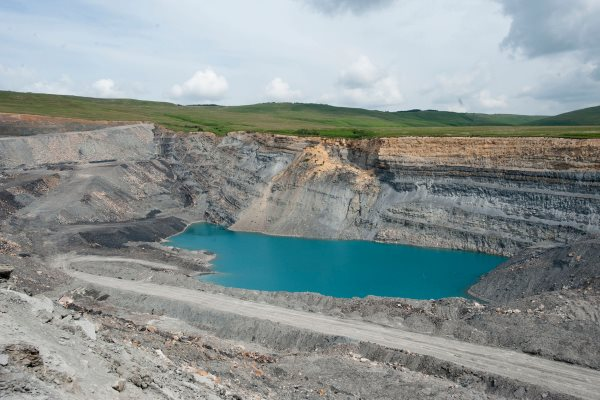 The 400MW Glenmuckloch pumped storage scheme will make use of opencast coal workings. Photograph: Buccleuch Estates