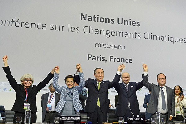 The Paris Agreement may make it easier to hold countries to account. Photograph: UN
