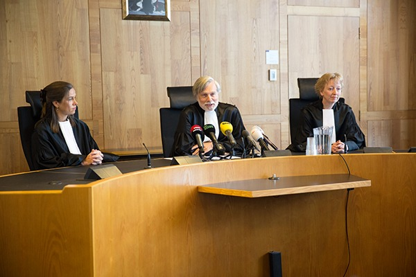The Dutch Urgenda case brought the first judgment to order a state to step up its climate ambition, although the government is appealing. Photograph: Urgenda/Chantal Bekker