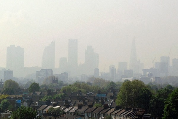 Air pollution in London and elsewhere is driving people concerned about the effects on their health to engage in community projects or buy cheap monitors. Photograph: David Holt/Flickr