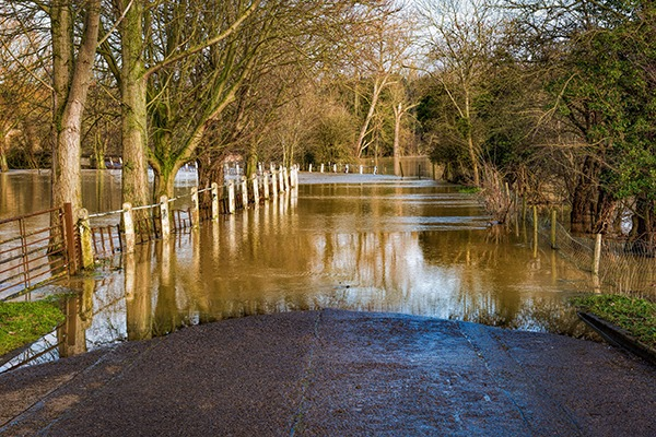 Over the last three years more properties have fallen into flood risk categories. Photograph: Olan/123RF