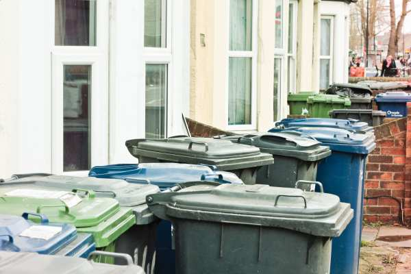 Household recycling bins