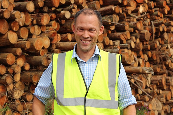 Managing director of Forest Fuels, Peter Solly, has welcomed the government's announcement