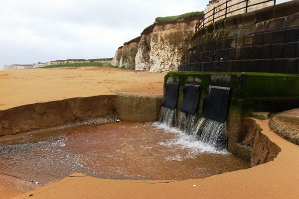 Southern Water's Margate wastewater pumping station suffered a series of failures in 2012. Photograph: Environment Agency