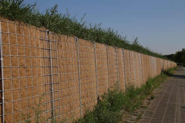 Noise barriers such as these can make living near major roads more comfortable. Photograph: Matthias Wolf / 123RF