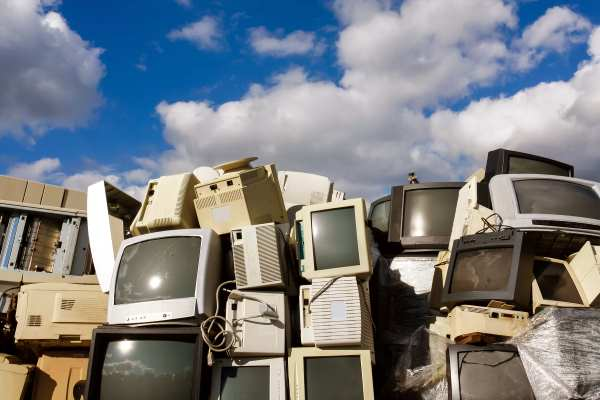 Used electronic and electrical waste - WEEE