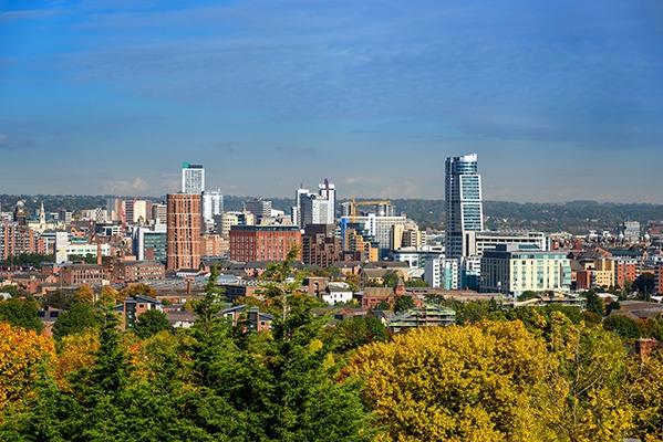 Leeds city skyline. Photograph: Shahid Khan/123RF