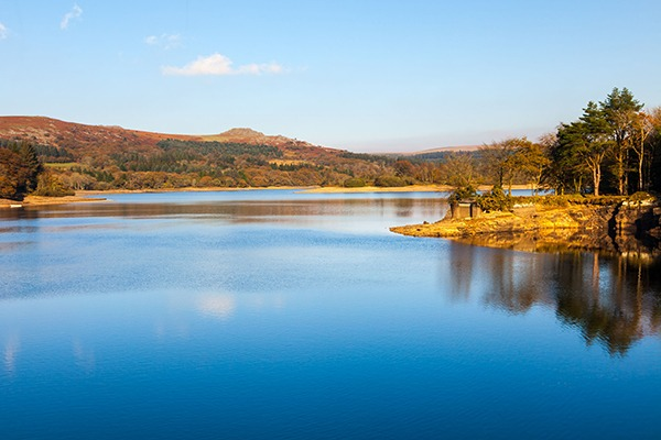 Burrator Reservoir on Dartmoor National Park. Photograph: Ian Wool/123RF