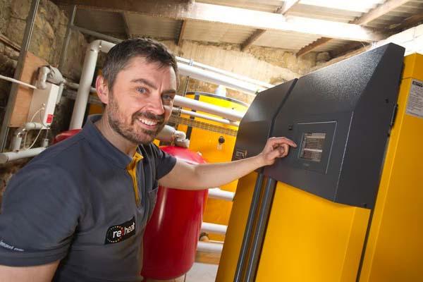 Terry Harvey, biomass engineer, re:heat