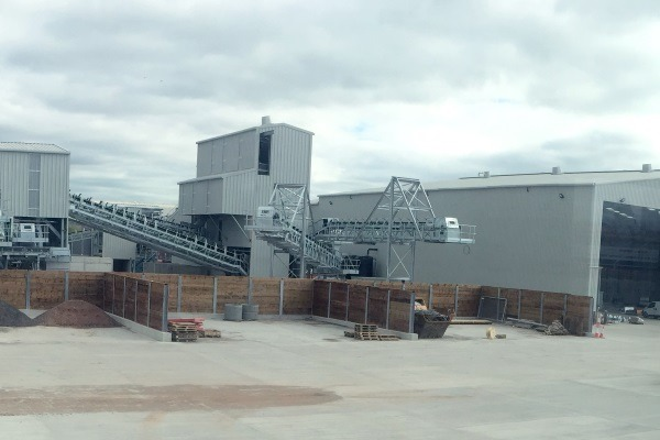 The Avonmouth incinerator bottom ash processing facility