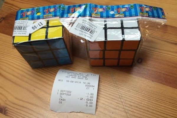 The Rubik's Cube-style toy contained banned substances. Photograph: CHEMTrust