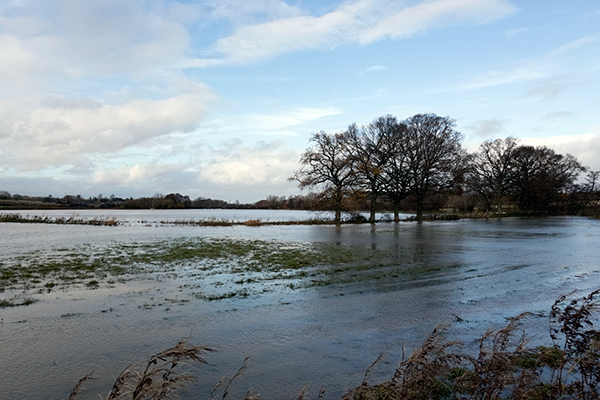 Altered floodplains lead to higher flood risk. Photograph: 123RF