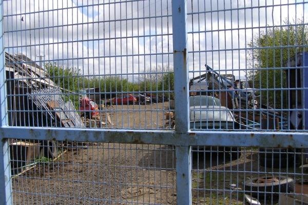 Purdy's unlicensed scrap yard at Tullaghgore Road, Ballymoney. Photograph: DAERA