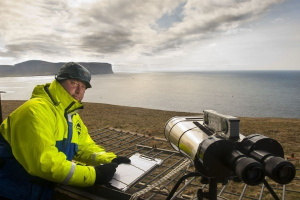 Data on two marine energy test sites in Scotland has been analysed and published by SNH. Photograph: Mike Brookes-Roper